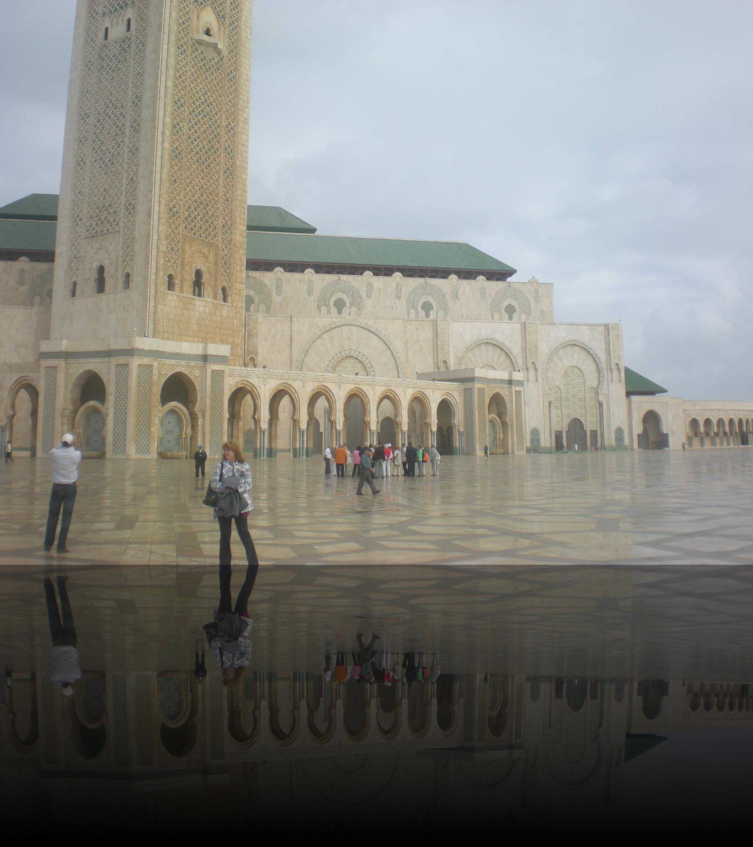 Casablanca la moschea di Hassan II