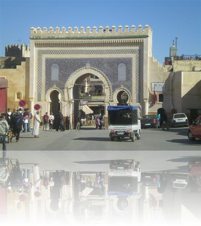 Il maestoso ingresso alle medina di Fes