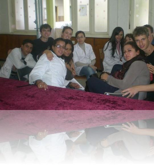 Incontro con i ragazzi del liceo Chawki di Casablanca