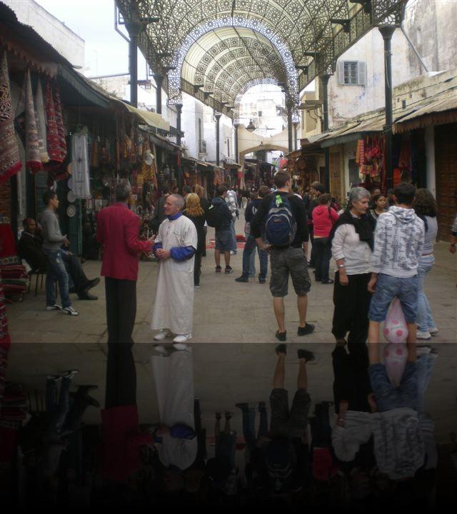 La medina coperta di Rabat