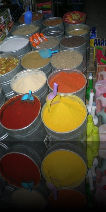 Le spezie che condiscono i piatti tipici marocchini