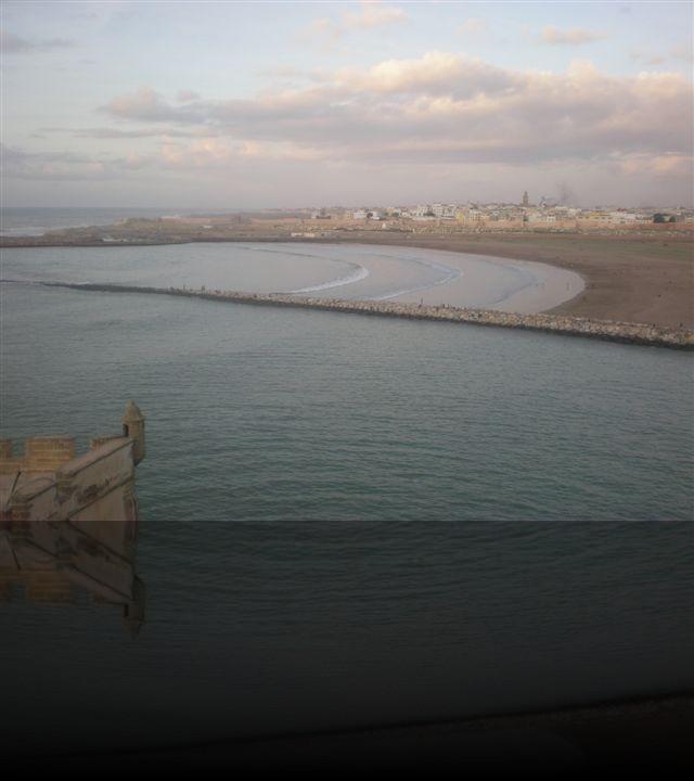 L\'oceano visto da Casablanca