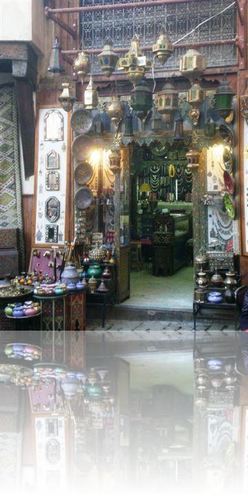 Piccolo negozio di oggettistica tipica marocchina