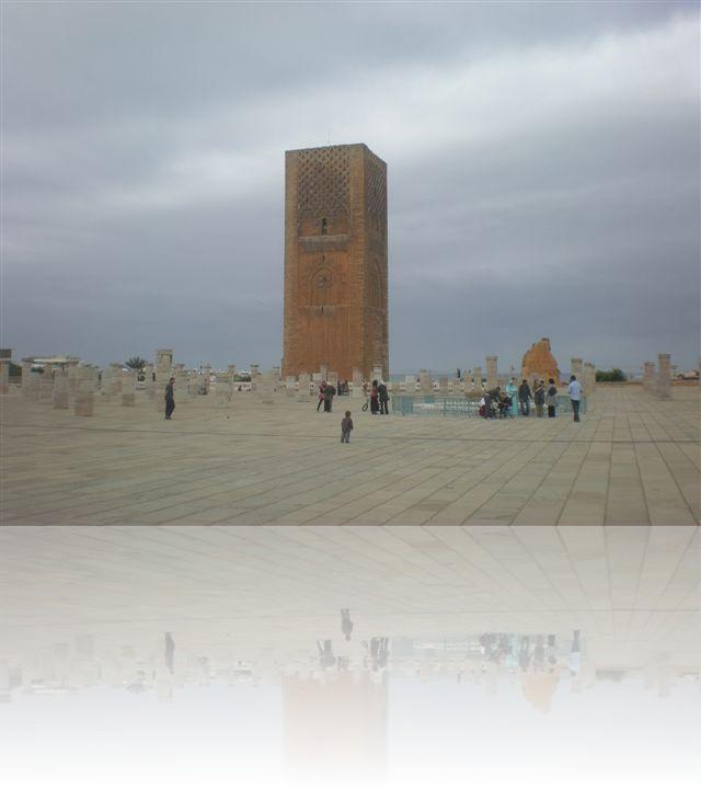 La Torre Hassan a Rabat