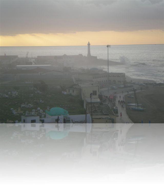 Vista dalla corniche di Casablanca