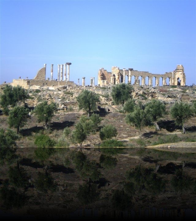 I resti romani di Volubilis