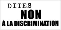 Dites non à la discrimination